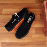 Sepatu Vans Slip On wtaps GPS Black Orange ORI Premium BNIB Quality
