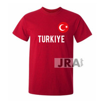 KAOS SHIRT BAJU BUKAN JERSEY TURKIYE TURKI COMBED