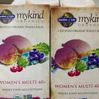 vitamin mykind organic/vitamin garden of life/ women's multivitamin