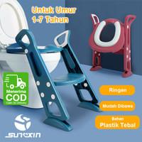 Baby Potty Chair Seat Toilet Training Pispot Anak Bayi Ladder Baby