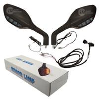 Kaca Spion LED Lampu Sein PCX 150 LED Aksesoris Resmi Honda
