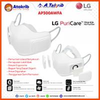 LG MASKER AP300AWFA Wearable Air Purifier