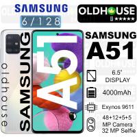 SAMSUNG GALAXY A51 A 51 6/128 RAM 6GB ROM 6GB NEW GARANSI RESMI