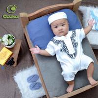 Baju Koko Bayi New Born Romper Aqiqah Model Terbaru - 0-3 Bulan, Hitam