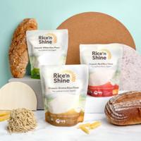 Rice 'n Shine Organic Rice Flour - White/Red/Brown (250 g)
