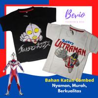 Kaos Anak Laki-Laki Ultraman Baju Atasan Karakter Cowok 2 - 8 Tahun