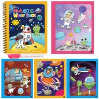 GROSIR ONLY Magic Water Book - Buku Gambar Anak - Mainan Mewarnai