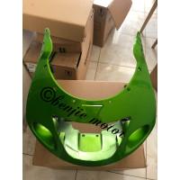 Fairing atas original ninja rr old hijau metalik 2010-2011