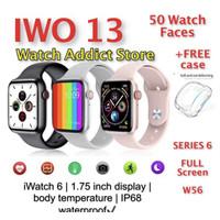 IWO 12 1:1 iwatch 5 40mm original smartwatch apple watch 44mm 42mm 13 - IWO 12 PRO, Putih 40mm