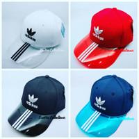 Topi sport transparan / fashion / snapback / Adidas
