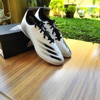 Sepatu Futsal Adidas X Ghosted 4 White / Black Original BNIB - 40