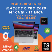 "Macbook Pro 2020 13"" M1 Chip 8C CPU GPU 16C 8GB 256GB MYD82 MYDA2 - Resmi inter, Grey MYD82"