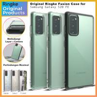 Original Ringke Fusion Case Samsung Galaxy S20 FE Soft Casing Softcase