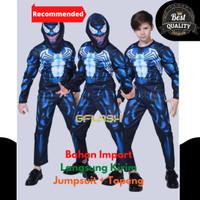 Kostum Anak Venom Busa Otot Baju Karakter Karnaval Ultah Import Laki
