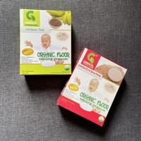 GASOL Organik Tepung Pisang Beras Merah Makanan MPASI Bayi (2 Pcs)