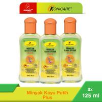 Konicare Minyak Kayu Putih Plus Anti Nyamuk 125 ml Paket 3 botol