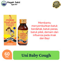 Uni Baby's Cough Syrup 60 ml - Obat Batuk dan Pilek Anak / Bayi