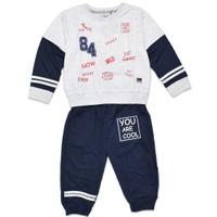 METALIZER KIDS B0028 Baju Set Hoodie Anak Laki-Laki Babyterry Premium - Misty Navy, 2