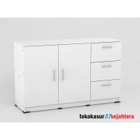 Lemari dapur - Kitchen set - Cradenza Alba SB 120 WHITE - Metropolis