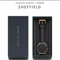 jam tangan dw pria original box