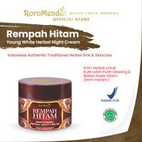 ORIGINAL Rempah Hitam Whitening Herbal Night Cream Roro Mendut