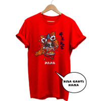 KAOS IMLEK CHINESE NEW YEAR SINCIA 2021 - Barongsai Sapi Kerbau