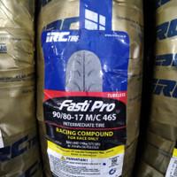 ban balap IRC Fasti Pro ukuran 90/80-17 ring 17 Soft Compound