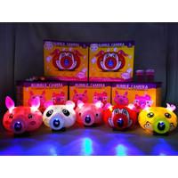 Mainan Anak Buble Camera Animal Bubble Sabun Balon Gelembung Warna