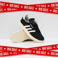 Sepatu Adidas Gazelle Super Black white sol sail Original
