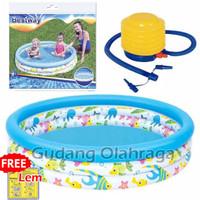 Kolam Renang Anak Ocean Life Bestway 51009 , 51008 [Uk. 122cm & 102cm]