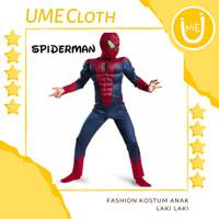 Kostum Superhero Fashion Anak Laki Baju Spiderman Marvel