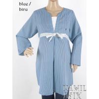 Sasmita – Baju hamil menyusui panjang Venice formal kerja katun