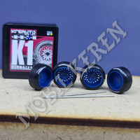 Kreauto Ban Karet K1 Blue Pirelli 10-10