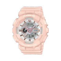 Jam Tangan Wanita Casio Baby-G Digital Analog Soft Pink BA-110RG-4ADR