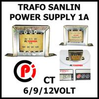 SANLIN Trafo 1A CT 12V Transformator Power Supply Step Down 12 Volt