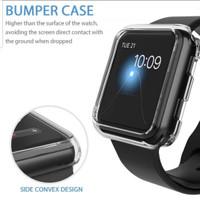 Soft Case Apple Watch Iwatch Bumper Clear 38mm 40mm 42mm 44mm