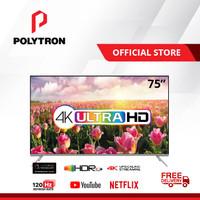 POLYTRON 4K UHD Smart TV Quantum Dot 75 inch PLD 75UV5901