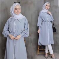 Baju Tunik Wanita Muslim Terbaru 2020 Tunik Murah kekinian Remaja