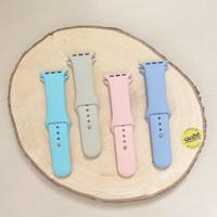 Silicone Strap Apple Watch - Tali Jam Smart Watch 42/44mm/S - Ungu
