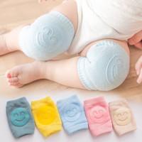Knee Pad Protector Baby / Kaos Kaki Pelindung Lutut Dengkul Bayi SMILE