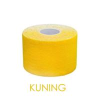 KINESIO TAPE 5M / Kinesiologi / Athletic Sports Elastic Kinesiology - Kuning