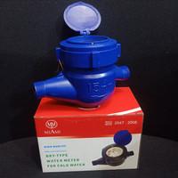 Water Meter Air / Meteran Air Merk MIAMI SNI ukuran 1/2 inc PVC