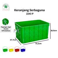 Green Leaf Container / Bak Air Keranjang Industri 2243 P
