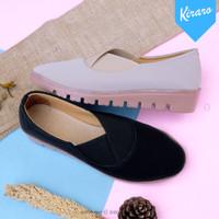 Sepatu Wanita Sneakers Selip On Casual Santai Anti Licin NALA KHDR01
