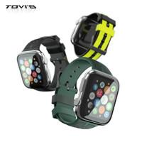 Strap Apple Watch TGVI's Premium Rubber Strap 42mm 44mm - Kuning