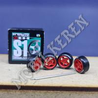 Kreauto Ban Karet S1 Red Michelin 10-10