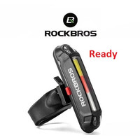 Lampu sepeda ROCKBROS Bike Tail LED Rechargeable WR01A