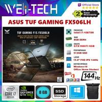 ASUS TUF GAMING F15 FX506LU i7-10870H 8GB 512GB GTX1660Ti 6GB W10 OHS