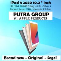 (IBOX) iPad 8 2020 10.2 inch 32GB 128GB Garansi Resmi Cellular 32 128 - Inter 32 WIFI, Space Grey