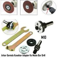 Adaptor Bor Arbor untuk Mesin Gerinda - Konektor Konverter Adapter